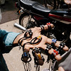 Handmade jewelry, Karachi, Pakistan<br /> scenes of daily life in markets and bazaars in Karachi<br /> (Credit Image: © Chris Kralik/KEYSTONE Press)