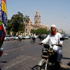 Easy Rider,Karachi, Pakistan<br /> scenes of daily life in markets and bazaars in Karachi<br /> (Credit Image: © Chris Kralik/KEYSTONE Press)