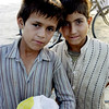 Beach urchins, Karachi, Pakistan<br /> scenes of daily life in markets and bazaars in Karachi<br /> (Credit Image: © Chris Kralik/KEYSTONE Press)