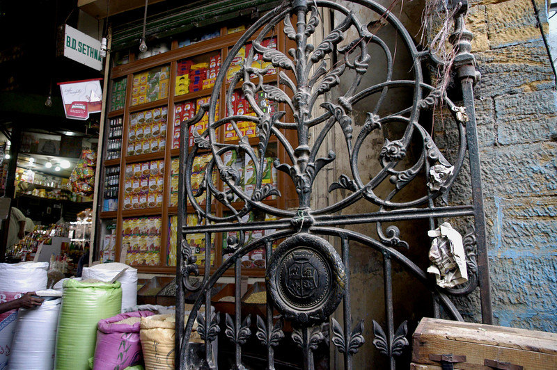 Colonial wrought Iron at the Central market, Karachi, Pakistan<br /> scenes of daily life in markets and bazaars in Karachi<br /> (Credit Image: © Chris Kralik/KEYSTONE Press)
