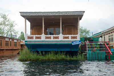 Dal Lake Houseboats in Srinagar, Jammu and Kashmir, India.