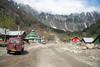 Roads on the Srinagar-Leh Highway, Kashmir, J&K, India on the way to Sonamarg.