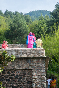 Visitors enjoy the vista and view from Pari Mahal. Pari Mahal (Hindi: परी महल ) or The Angels' Abode is a seven terraced garden located at the top of Zabarwan mountain range over-looking city of Srinagar and south-west of Dal Lake.
