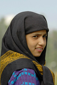 Young girl in Kashmir, J&K, India.