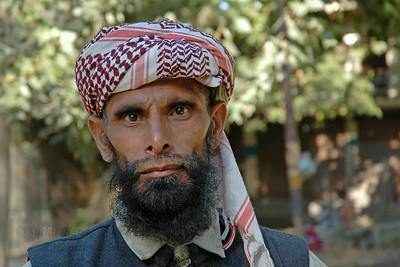 Man in Kashmir, J&K, India.