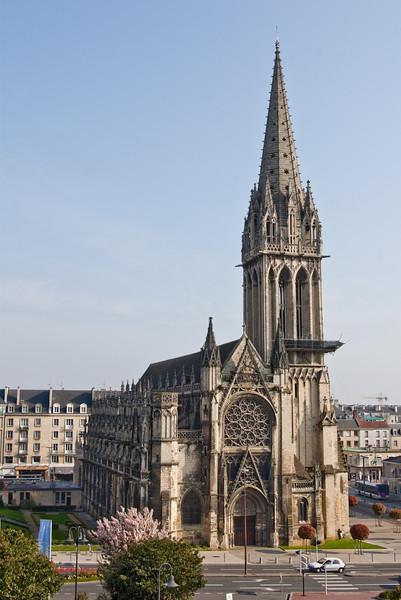 Caen, Eglise St Pierre