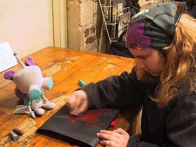 Katelyn In London Feb 2004