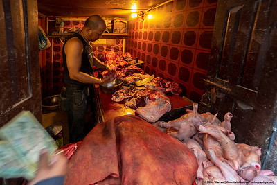 The reason many go vegetarian in Nepal!