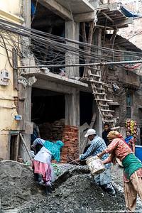 2015 earthquake repair ongoing.