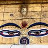 """at Sawyambhu """"Monkey"""" Temple."""