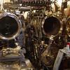 torpedo chambers in the submarine