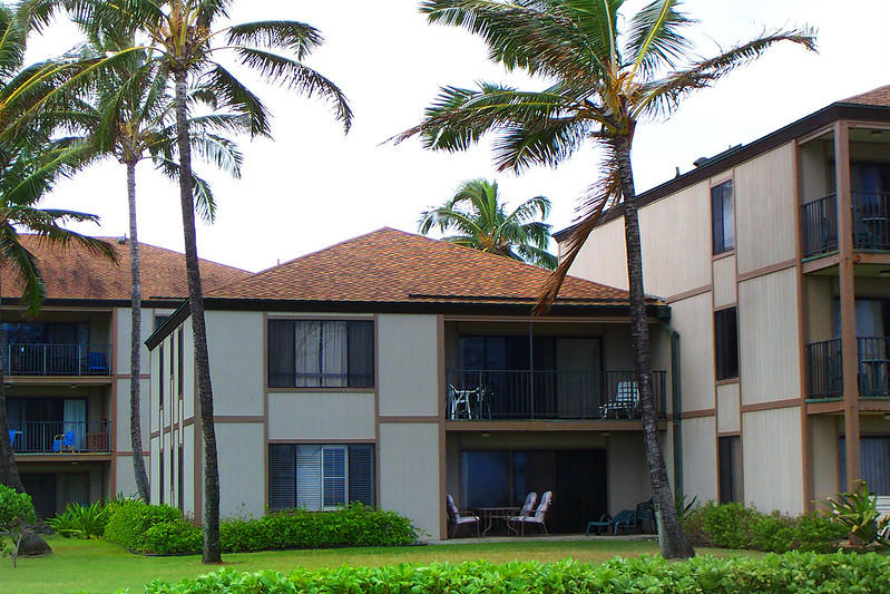 This is the condo we stayed at in Kapaa, we had the upper floor of the two story. The place was twice as big as my apt.