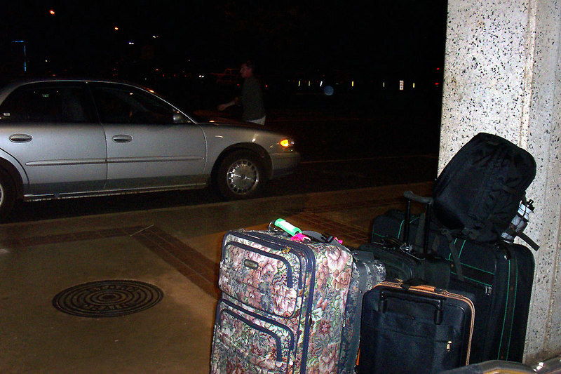 At the Lihue Airport. We had a 10:00pm flight back to LA. It was a fun trip. <br /> <br /> THE END