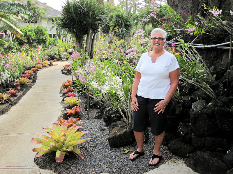 Gardens at Kiahuna Plantation at Poipu