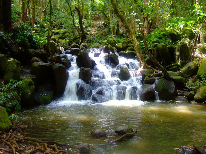 """Queens Pool"" waterfall"