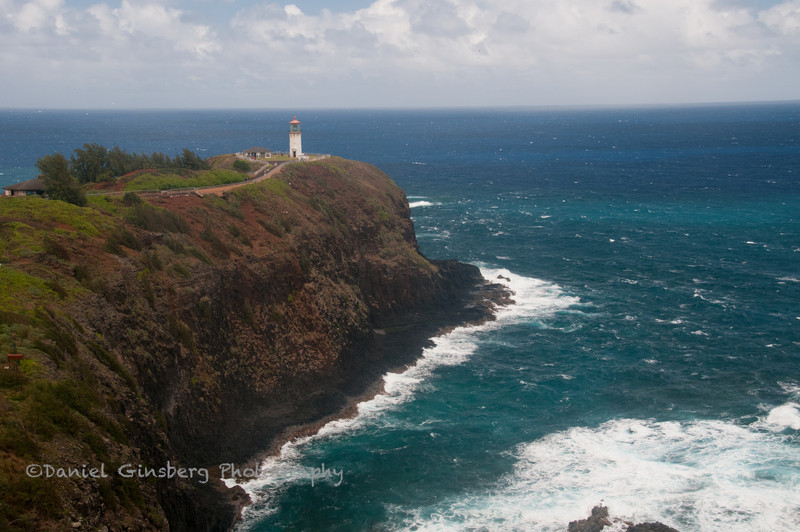 Kilauea Lighthouse in Kauai.