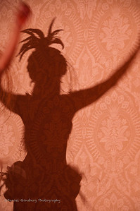 A shadow hula dancer.