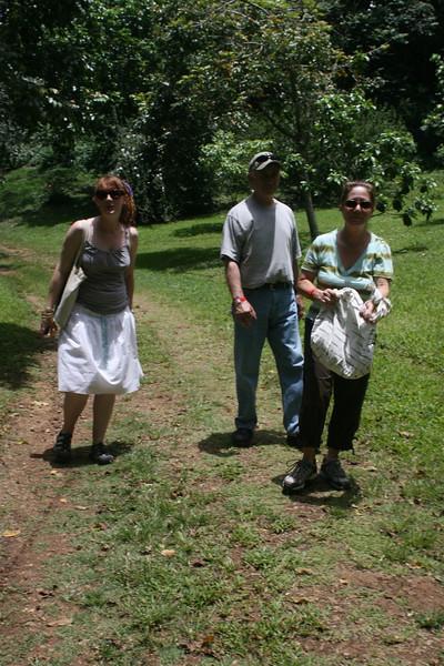 Caitlin, Frank and my mom.