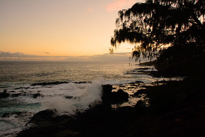 Sunset at Spouting Horn