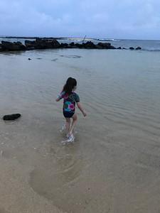 Malia at Poipu Beach
