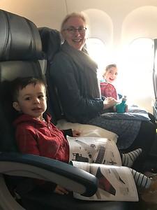 Flying between Finn & Malia
