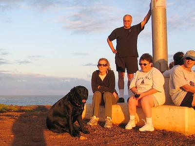 Point at Poipu sunset