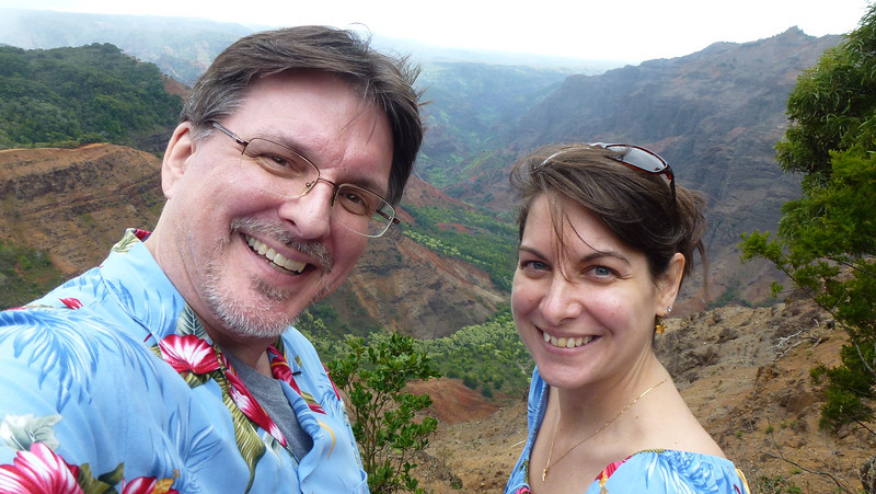 Waimea Canyon - Ni'ihau Lookout.