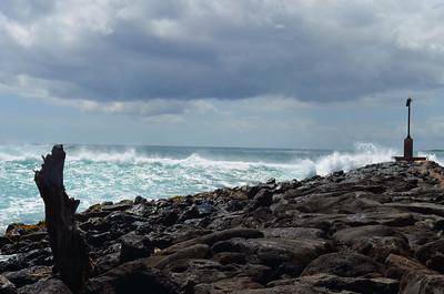 Huge Waves at Poipu Beach