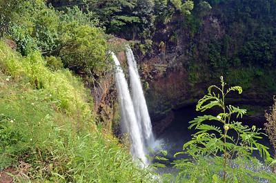 Kauai's Rainbow Falls