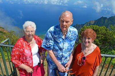 Helen, Clem and Judy