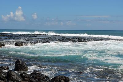 Wide Volcanic Shoreline