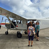 After the class on making shell earrings, we drove to Lihue airport to take a scenic flight over Kauai with Wings Over Kauai. It was a cloudy, rainy day so I didn't know what to expect.