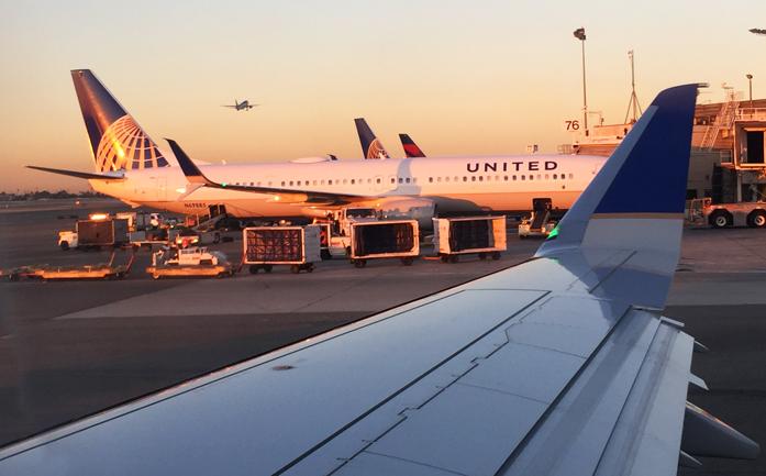 . . . and the sun rises over Los Angeles.   Aloha!
