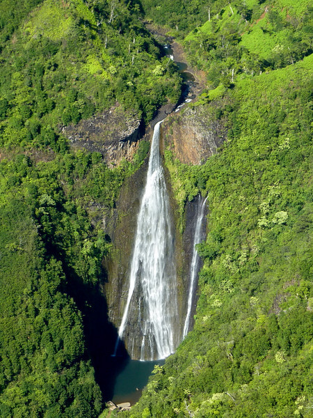 Waterfall from Helicopter