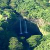 Waimea Falls from the Air
