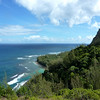 View to North from Windy Point, Kalalau Trail