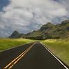 Driving though the Kipu Ahupua'a west of Lihue.