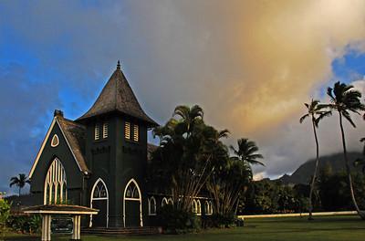 Wai'oli Hui'ia Church Hanalei