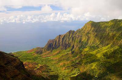 Kalalau Valley, Na Pali Coast Kaua'i, Hawai'i