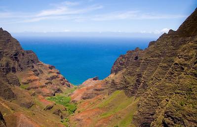Na Pali Coast Kaua'i, Hawai'i