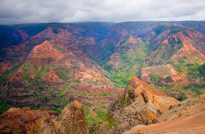Waimea Canyon Kaua'i, Hawai'i