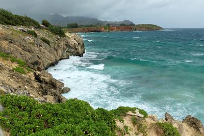 Maha'ulepu beach trail