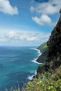 North end of the Na Pali Coast