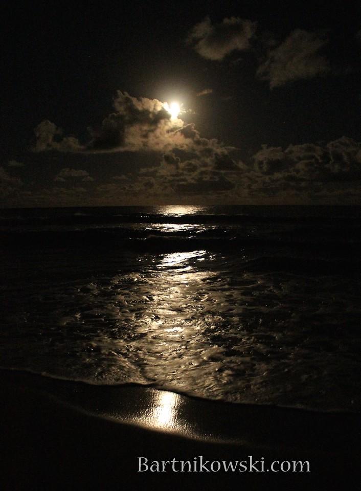 Moon Rise, Kealia Beach, Kauai