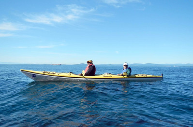 Kayaking the Haro Strait