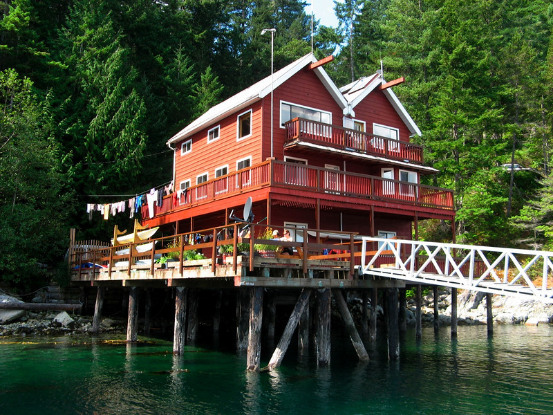 Coast Mountain Expedition's Spirit Lodge - out starting point