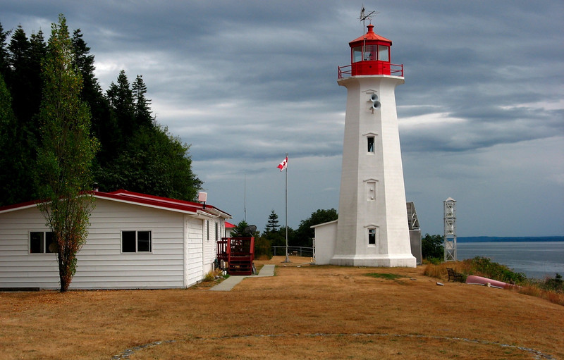 Lighthouse on Quadra