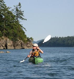 Kayaking Trip July 2012 with Miriam