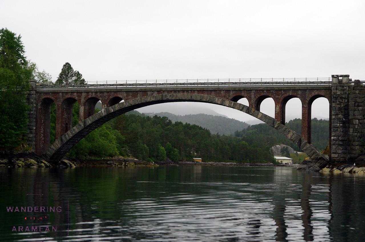 Cool bridge over the river