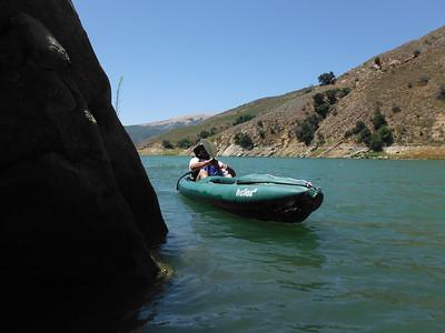 Kayking Piro Lake
